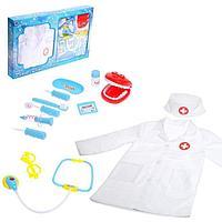 Набор доктора «Стоматолог» с халатом, в коробке