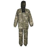 Костюм «Егерь» с сеткой, смесовая ткань, размер 52-54/170-176, цвета микс