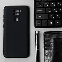 Чехол Innovation, для Xiaomi Redmi Note 9, силиконовый, матовый, черный
