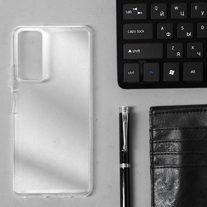 Чехол Innovation, для Honor 10X Lite, силиконовый, прозрачный - фото 1