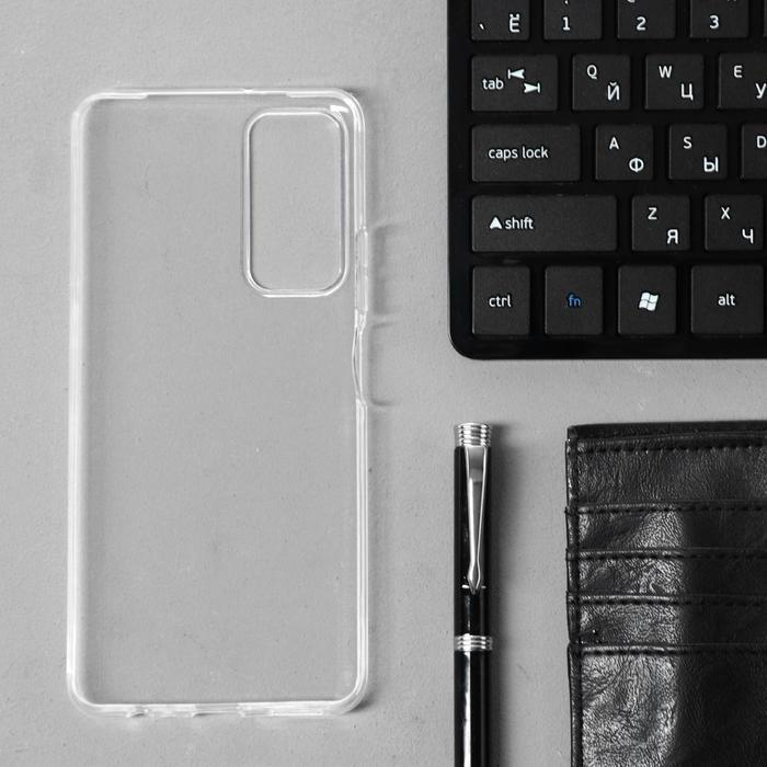 Чехол Innovation, для Honor 10X Lite, силиконовый, прозрачный - фото 2