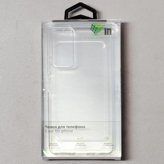 Чехол Innovation, для Honor 10X Lite, силиконовый, прозрачный - фото 4