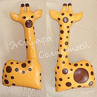 Декоративная подушка Жирафа Солнечный