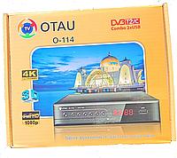 Ресивер цифрового телевидения DVB-T2 OTAU O-114