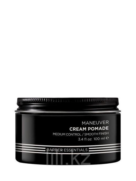 Помада-крем для укладок с натуральной текстурой, для мужчин Redken Brews Cream Pomade 100 мл.