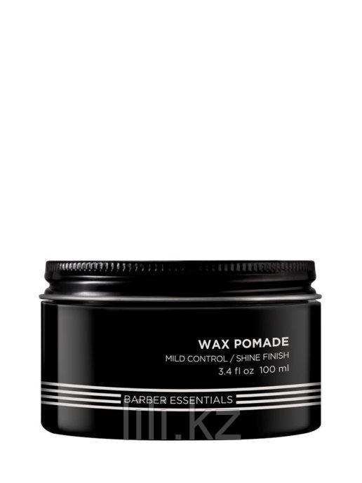 Помада-воск для пластичных укладок для мужчин - Redken Brews Wax Pomade 100 мл.