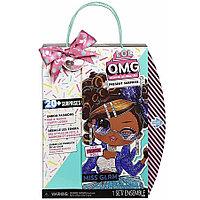 Кукла игрушка ЛОЛ Сюрприз ОМГ 24 см Miss Glam (L.O.L. Surprise! OMG Present Surprise Birthday Miss Glam Doll)