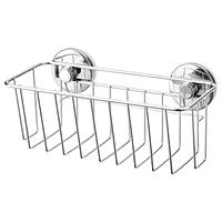 Корзина на присосках, КРОКФЬЁРДЕН,  оцинкованный 24x11 см. ИКЕА, IKEA