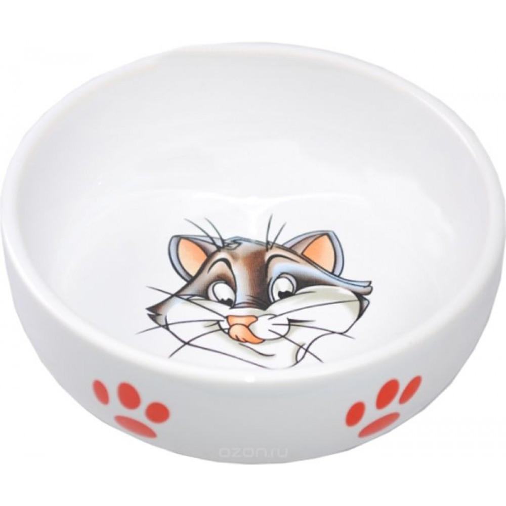 Миска керамическая Кошка