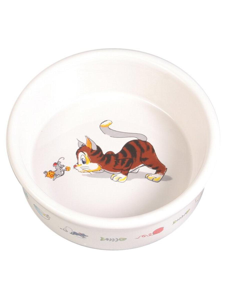 Миска керамическая Котёнок