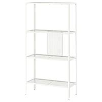 Стеллаж, БАГГЕБО,  металлический/белый 60x25x116 см ИКЕА, IKEA