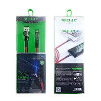 USB Кабель GERLAX GD-30 MicroUSB Кабель GERLAX GD-30 1M для Android, samsung, xiaomi, huawei, realme, oppo