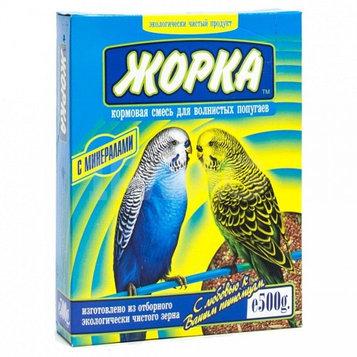 Жорка Корм для волнистых попугаев Минералы