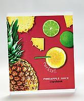 Тетради школьные, в клетку, 48 листов, Pineapple Juice