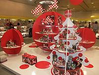 Изготовление бренд-зоны в новогодней тематике