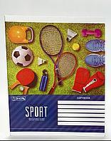 Тетради школьные, в клетку, 48 листов, Sport