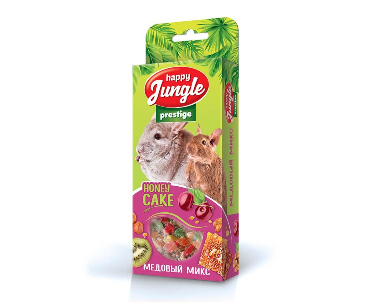 Happy Jungle Корзинки медовый микс для грызунов