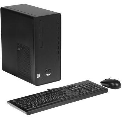 Персональный компьютер HP 290 G4 MT 123N2EA черный
