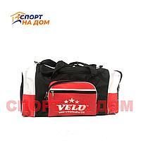Большая тренировочная сумка Velo (цвет красный)