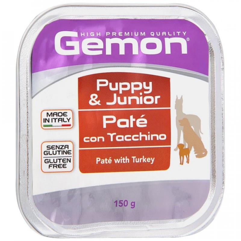 Gemon Влажный корм для щенков с индейкой