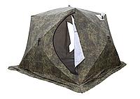 """Палатка КУБ-4 """"Т""""(трехслойная) камуфляж, москитная сетка"""