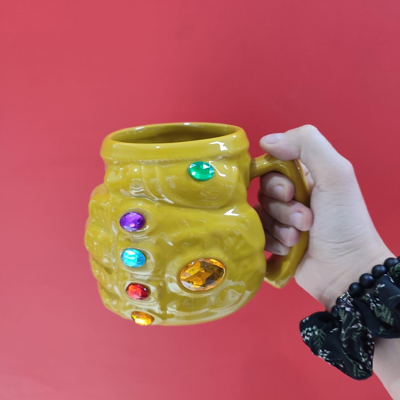 3-D кружка Перчатка Бесконечности