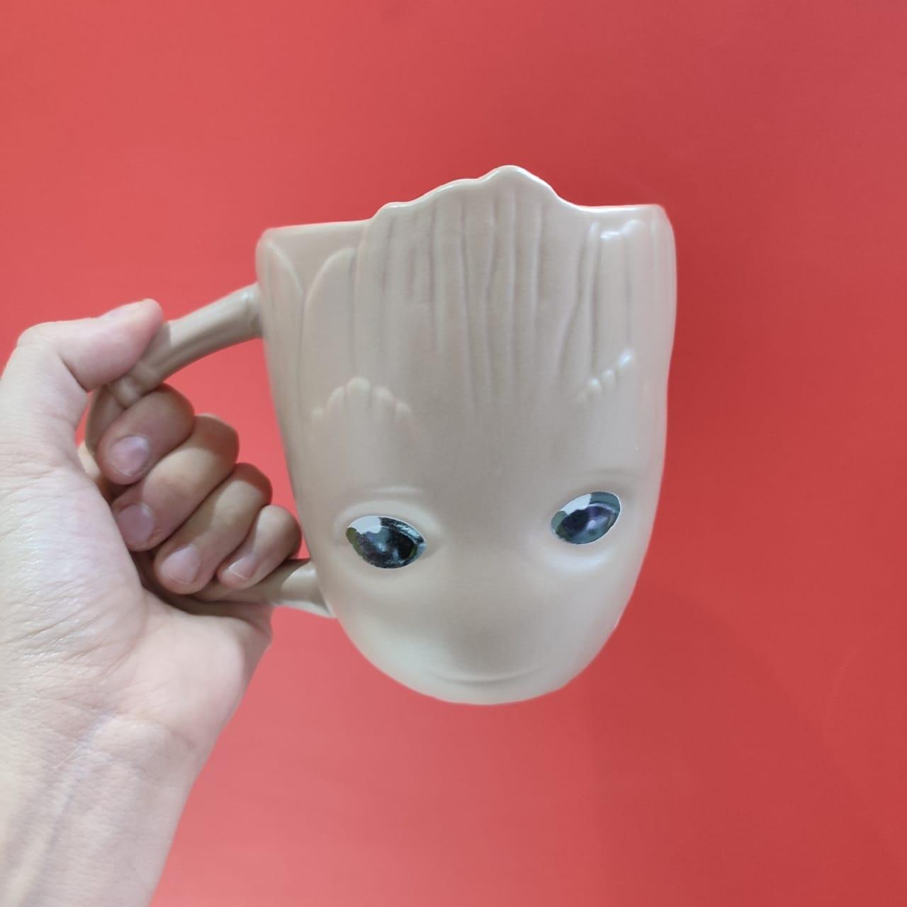 3-D кружка Грут (керамическая)