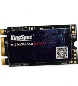 Твердотельный накопитель SSD  PCIe KingSpec NE-128 ,128 ГБ, M.2 2242