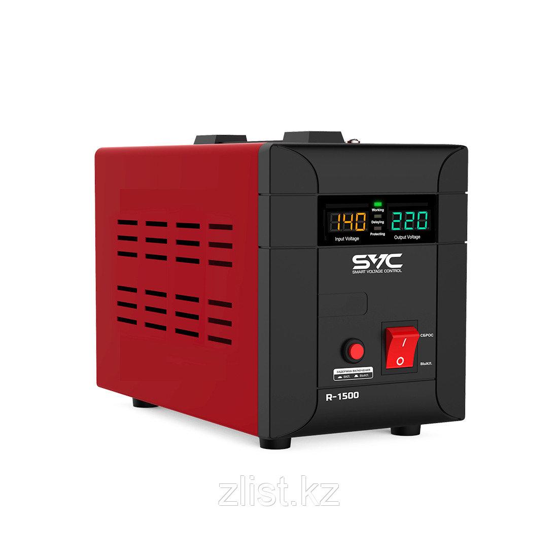 Стабилизатор напряжения для настенного размещения 1500 ватт. Однофазный стабилизатор напряжения.