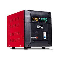 Стабилизатор напряжения для настенного размещения 5000 ватт. Однофазный стабилизатор напряжения.