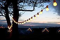 Белт-лайт гирлянды для летних площадок, кафе, гирлянда belt light, ретро гирлянда. 10 метров, фото 2