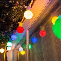 Белт-лайт гирлянды для летних площадок, кафе, гирлянда belt light, ретро гирлянда. 10 метров, фото 6