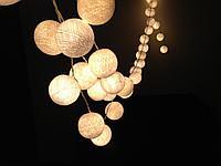 Белт-лайт гирлянды для летних площадок, кафе, гирлянда belt light, ретро гирлянда. 10 метров, фото 9