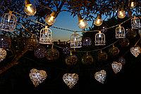 Белт-лайт гирлянды для летних площадок, кафе, гирлянда belt light, ретро гирлянда. 10 метров, фото 10