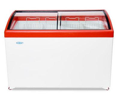 Морозильный ларь Снеж МЛГ 400 красный