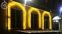 Белт-лайт гирлянды для летних площадок, кафе, гирлянда belt light, ретро гирлянда., фото 5