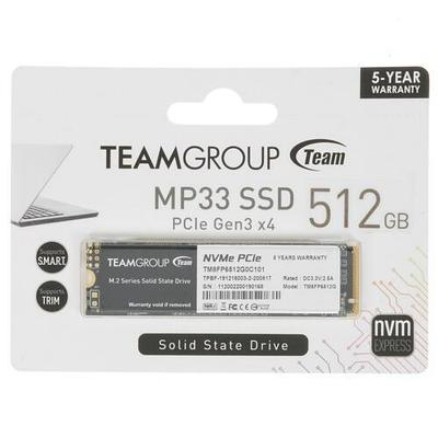 SSD M.2 накопитель Team Group MP33 TM8FP6512G0C101