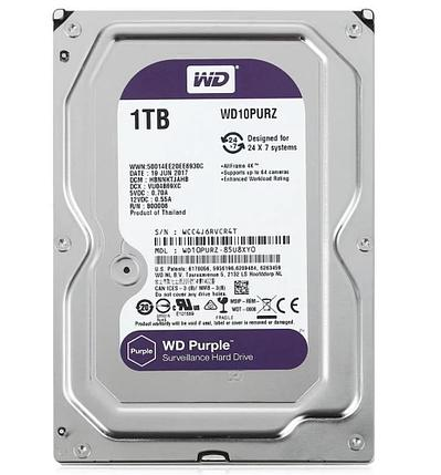 Жёсткий диск 1Tb Western Digital WD10PURZ, фото 2