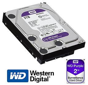 Жёсткий диск 2Tb Western Digital WD20PURZ