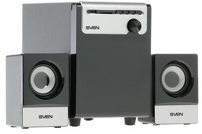 Колонки 2.1 SVEN MS-110 Черный/серебристый
