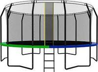 Батут SWOLLEN Prime Black 16 FT диаметр 488 см