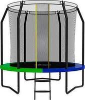 Батут SWOLLEN Prime Black 8 FT диаметр 244 см