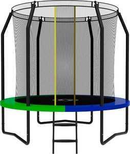 Батут SWOLLEN Prime Black 8 FT диаметр 244 см - фото 1