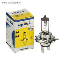 Лампа автомобильная Narva Standard, H4, 12 В, 60/55 Вт, 48881