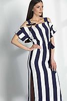 Женское летнее из вискозы платье Vladini VS943/3 42р.