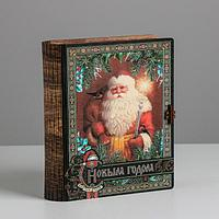Коробка-книга деревянная «Классика», 23 × 16 × 7 см