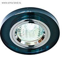 Встраиваемый светильник 8060-2, MR16, 50W, цвет серый, d=60мм