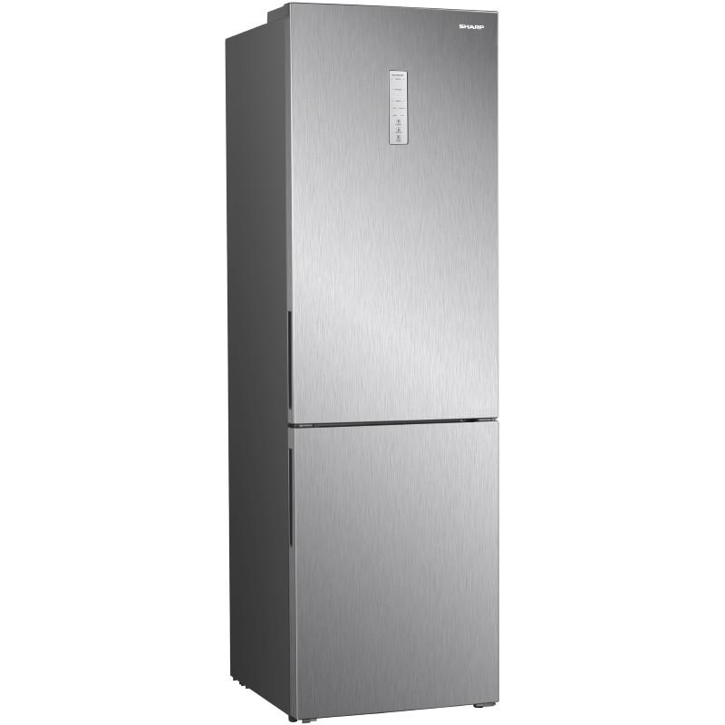 Холодильник Sharp SJB340ESIX серебристый