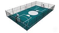 Резиновое покрытие для баскетбольного поля