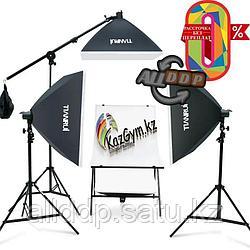 Софтбокс (комплект 3 шт.+фотостол)